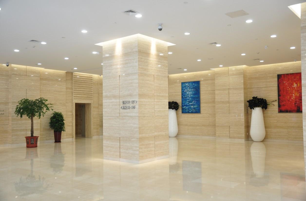 锦联国际大厦大堂一层大堂实景图(二)