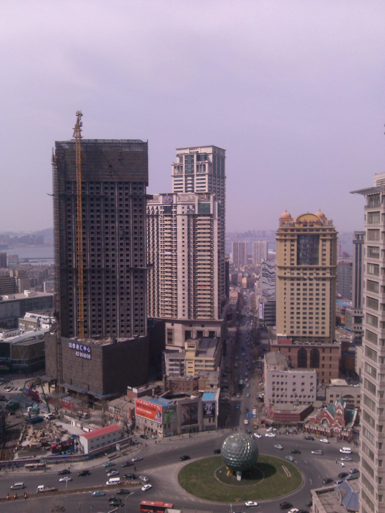 锦联国际大厦大堂写字间内视野实景图二