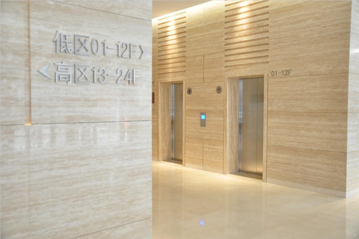 锦联国际大厦大堂大堂电梯前室
