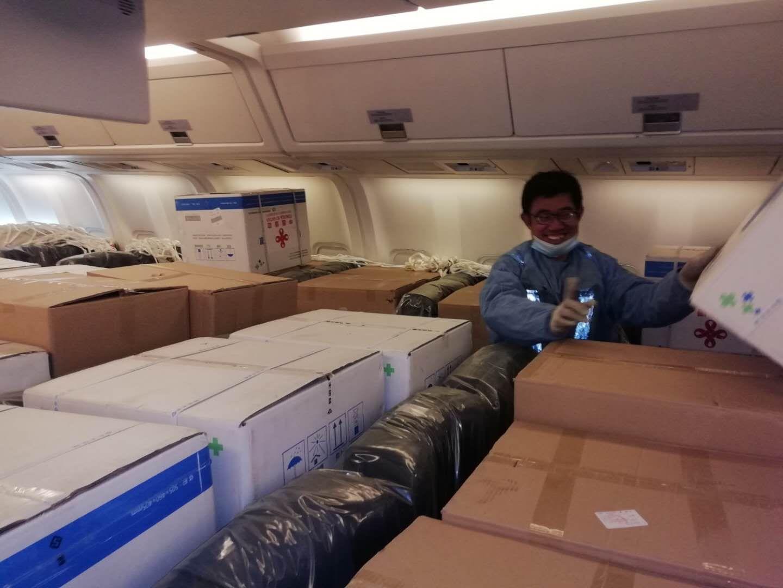 北京智运包机装载